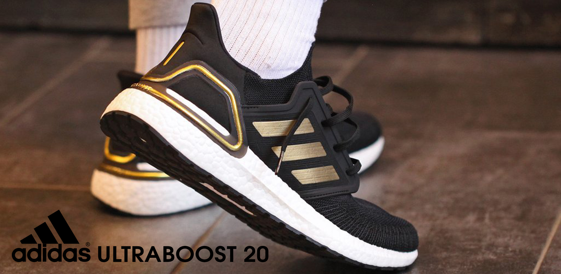 Slider ULTRABOOST GOLD